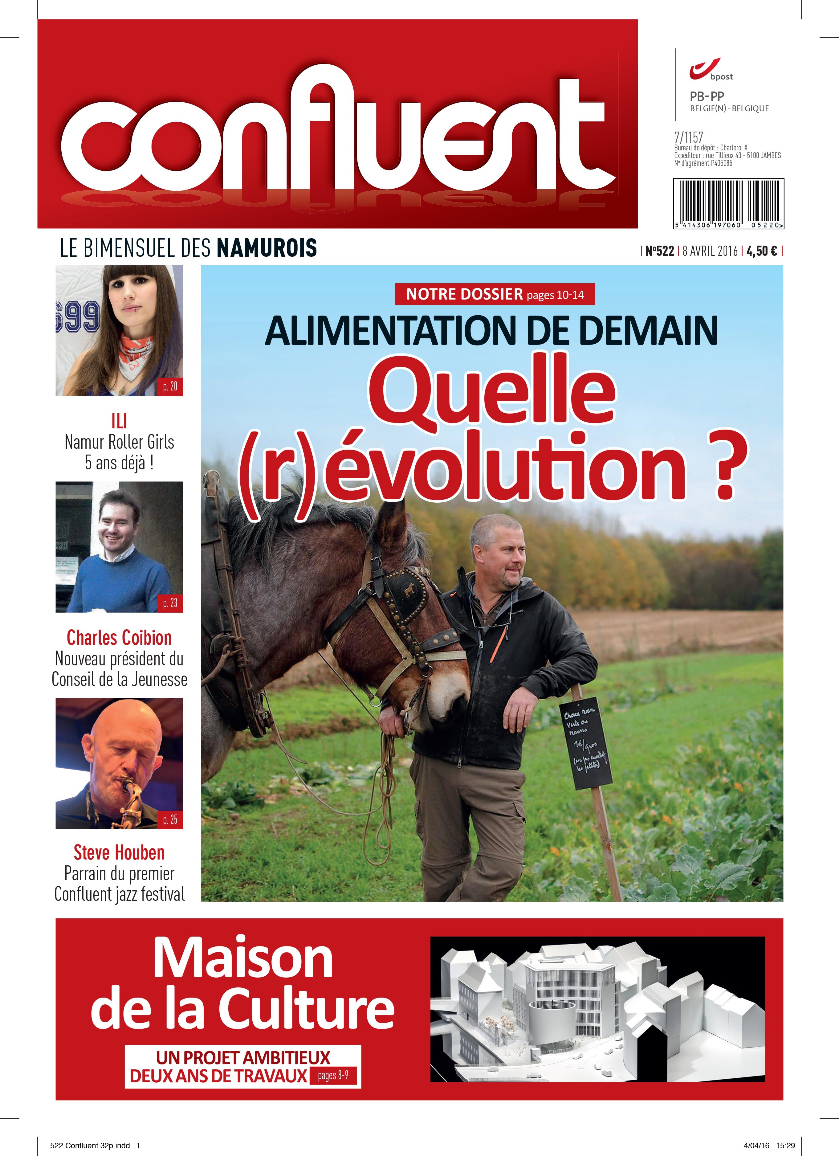 Le confluent du 8 avril 2016 - Jardin maison de la culture namur montreuil ...