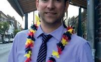 Mathieu Demaude, président de l'association des commerçants de Salzinnes