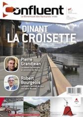 565 - Le grand élan du tourisme mosan, Dinant la Croisette, le marché hebdomadaire et les petits producteurs, le projet pour les sans-abris