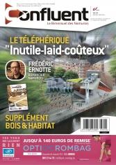 """Notre dernier numéro -584- Namur renonce à être patrimoine mondial, supplément """"Bois et Habitat"""", 2 portraits, une fiction etc..."""