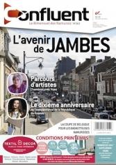 563 - Confluent 563  : L'avenir de Jambes, les basketteuses namuroises, dossier commerce jambois...