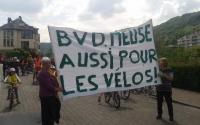 """Boulevard de la Meuse : le comité de Quartier """"Autour de la rue de Dave"""" favorable au cheminement cyclo-piéton"""