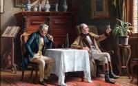 Antica déguste… avec Gérald Watelet, aux fourneaux et à la déco