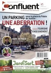 Notre dernier numéro -585- Dossier tourisme, enseignement - l'abérration du parking pl. de la Justice - les candidats MR et ECOLO à la Région