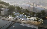 Les architectes namurois et danois présentent le projet Confluence